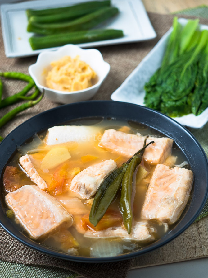 Sinigang Na Salmon Belly Riverten Kitchen