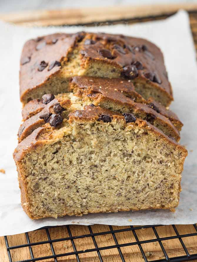 Moist And Soft Banana Bread Riverten Kitchen